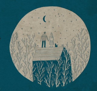"The forest is like a lover. ""moon"" by Lizzy  Stewart  (http://www.flickr.com/photos/lizzystewart/)"