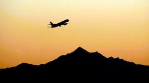 Take off. Photo Credit: Matt Slocum/AP