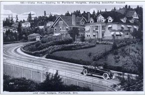 Painting Portland: historicalVista