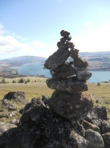 Cairn, Syncline, Columbia Gorge, WA