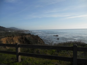 North of Rockport Bay, CA. Where Hwy 1 meets the sea.