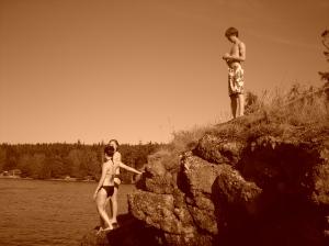 waiting to jump. Summer 2007.