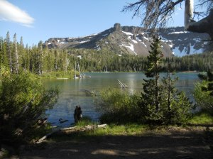 Little Three Creeks Lake. Sisters Wilderness, Deschutes National Forest, OR.