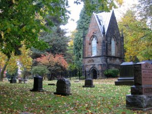 Lone Fir Cemetery. Portland, OR. Picture from PDXPipeline